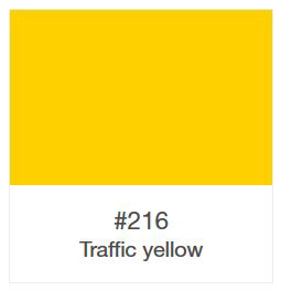 970-216 Traffic Yellow