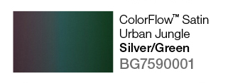 Avery SWF ColorFlow Satin Urban Jungle (Silver/Green) š.152cm