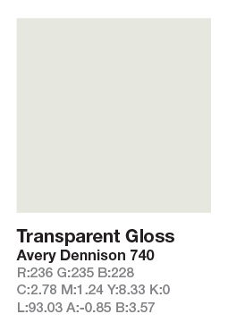 Avery 740 Transparent
