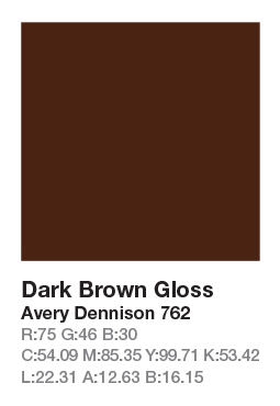 Avery 762 Dark Brown