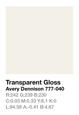 Avery 777-040 Transparent