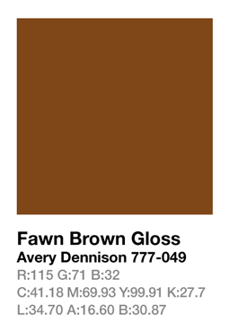 Avery 777-049 Fawn Brown