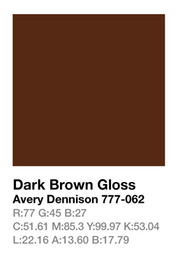Avery 777-062 Dark Brown