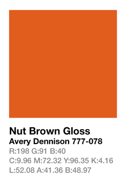 Avery 777-078 Nut Brown