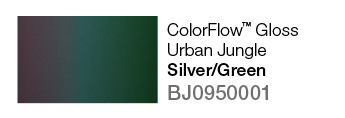 Avery SWF ColorFlow Gloss Urban Jungle (Silver/Green)