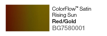 Avery SWF ColorFlow Satin Rising Sun (Red/Gold)