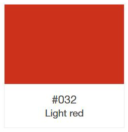 ORACAL 8500-032 Light Red