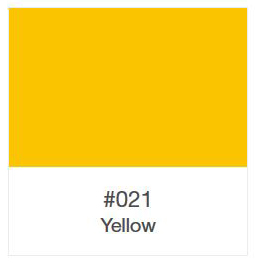 Oracal 751-021 Yellow