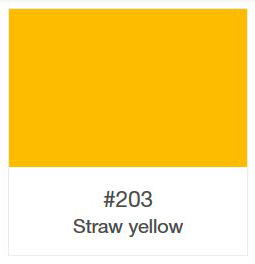 Oracal 751-203 Straw Yellow