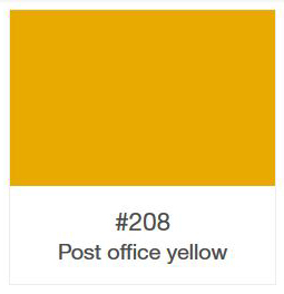 Oracal 751-208 Post Office Yellow