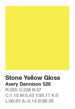 Avery 526 Stone Yellow